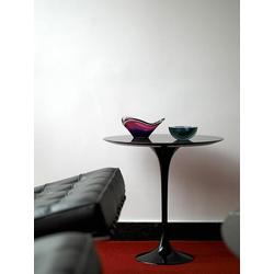 Beistelltisch Saarinen Tulip Knoll International schwarz, Designer Eero Saarinen, 52 cm
