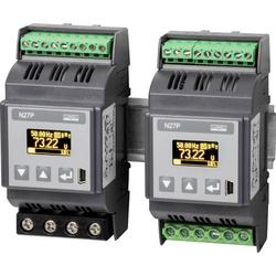 Lumel N27P 1100E0 1-Phasen DIN-Schienen-Multimeter 5 - 480V 0.005 - 6A 45 - 100Hz ±2.88kW