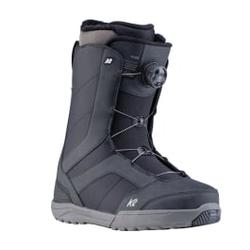 K2 Snowboard - Raider Black 2020 - Herren Snowboard Boots - Größe: 10 US