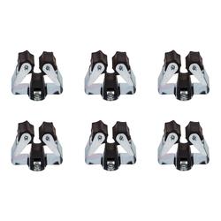 BigDean Gerätehalter Besenhalter Werkzeughalter Gartengerätehalter, (6-tlg)