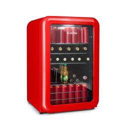 Retro Getränkekühler Kühlschrank Getränkekühlschrank 115L »PopLife130«, Kühlschränke, 63525350-0 rot rot