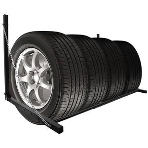 Unbekannt Reifenständer Breite 90 bis 130 cm Reifen Wandhalterung Hält bis 90kg Reifenhalter