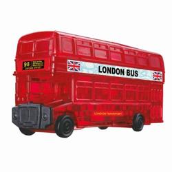 HCM Kinzel 3D Crystal Puzzle London Bus 53 Teile