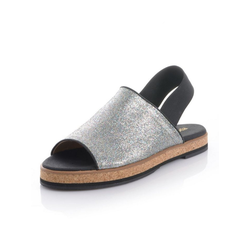 Alba Moda Sandalette in Peeptoe-Form 39