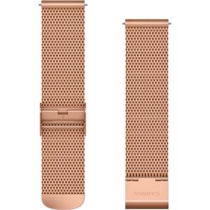 Garmin Edelstahl Milanaiseband Schnellwechsel-Armbänder 20mm 010-12924-24