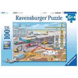 Ravensburger XXL Baustelle am Flughafen Puzzle 100 Teile