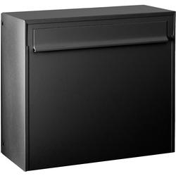 Max Knobloch Briefkasten Max Knobloch Zaunbriefkasten Fargo IV anthrazit-grau (RAL 7016) 20 Liter Briefkasten