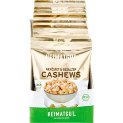 Heimatgut Bio Cashewkerne 125 g, 10er Pack