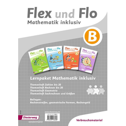 Flex und Flo - Mathematik inklusiv. Mathematik inklusiv Paket B