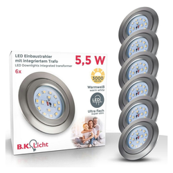 B.K.Licht LED Einbaustrahler 10-05-06-S