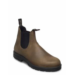 Blundstone Bl Elastic Sided Boot Lined Shoes Chelsea Boots Grün BLUNDST Grün 43,42,41,44,45,40,46,47