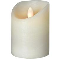 SOMPEX LED Kerze Shine 10 cm elfenbein