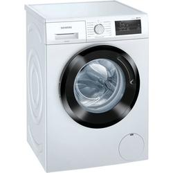SIEMENS Waschmaschine WM14N0K4, iQ300, WM14N0K4 D (A bis G) weiß Waschmaschinen Haushaltsgeräte