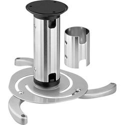 NewStar BEAMER-C80 Beamer-Deckenhalterung Neigbar, Drehbar Boden-/Deckenabstand (max.): 15cm Silber