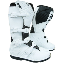 Shot X10 2.0 Motocross Stiefel, weiss, Größe 48