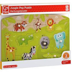 Hape - Dschungelpuzzle 10 Teile