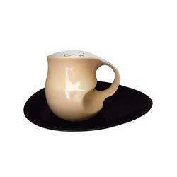 Colani Tasse Luigi Colani Kaffee-/ Cappuccinotasse natur