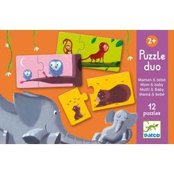 Mutti und Kind Puzzle von Djeco