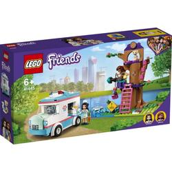 LEGO® Puzzle LEGO® Friends 41445 Tierrettungswagen, Puzzleteile