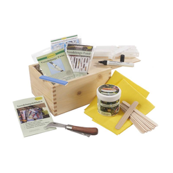 Veredelungs-Komplett-Set in einer Holz-Box