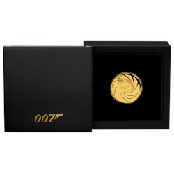 1/4 Unze Gold 007 James Bond 2020 Proof-Qualität