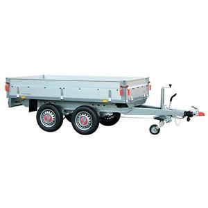 Stema Anhänger BASIC SH 2000-25-13.2  (Nutzlast: 1.642 kg, Doppelachser, Kasteninnenmaß: 251 x 128 x 35 cm, Gebremst)