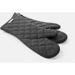 2 Ofenhandschuhe,feuerfest beschichtete Baumwolle, Schutz bis 250°C. Passt ab