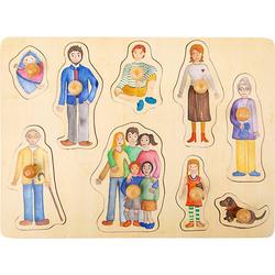 Setzpuzzle Familie und Freunde