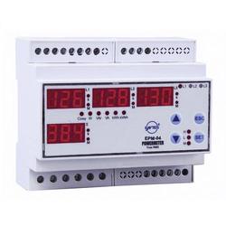 ENTES EPM-04-DIN Programmierbares 3-Phasen DIN-Schienen-AC Multimeter EPM-04-DIN Spannung, Strom, Fr