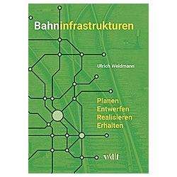 Bahninfrastrukturen. Ulrich Weidmann  - Buch