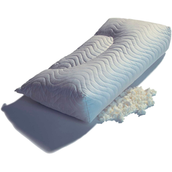 Kopfkissen, Latex Flocken, THOMSEN, (1-tlg), Talalay Latex