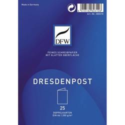 Dresdner Post DFW DRESDNER 800310 Doppelkarte A6 hochf.