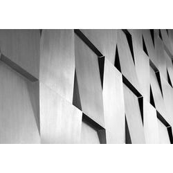 Places of Style Acrylglasbild Steinwand 120 cm x 80 cm x 2,4 cm