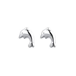 ELLI Ohrringe 'Delfin' silber, Größe One Size, 4363547