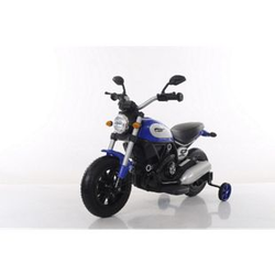 Elektro Chopper Kindermotorrad Elektro Kinder Motorrad 6V 7Ah 2x Motoren Luftbereifung