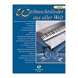 Weihnachtslieder aus aller Welt  für Keyboard. Uwe Sieblitz  - Buch