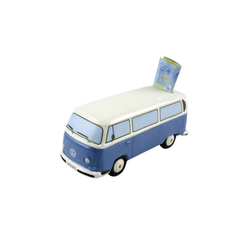 VW Bulli T2 Spardose blau