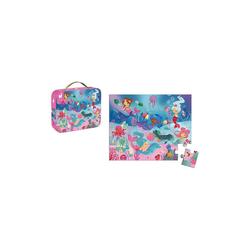 Janod Puzzle Puzzle Meerjungfrauen, 24 Teile, Puzzleteile