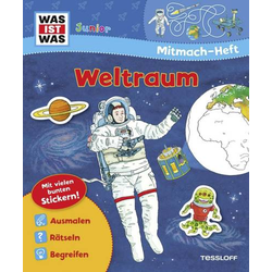 WIW Jun.Mitmach-Heft Weltraum