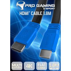 Subsonic HDMI-Flach-Kabel 4K HDMI-Kabel, (180 cm) 180 cm