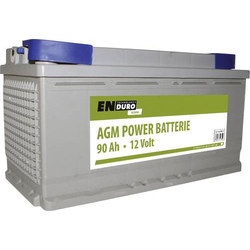 Enduro Batterie AGM Power 90AH 12V Versorgungsbatterie