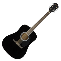 Fender FA-125 Dreadnought WN BLK