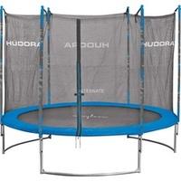Hudora Family 300 cm inkl. Sicherheitsnetz blau