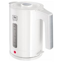 Melitta Wasserkocher 1016-03 Easy Aqua Top Wasserkocher weiß/edelstahl, 1.7 l, 2400 W