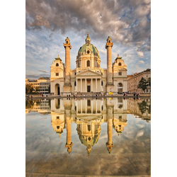 Piatnik Puzzle Karlskirche Wien, 1000 Puzzleteile