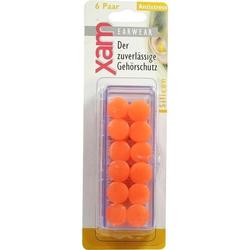 Ohrschutz Xam med. Silikon orange