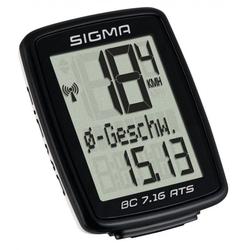 SIGMA Fahrradcomputer Sigma Fahrradcomputer Topline BC 7.16 ATS