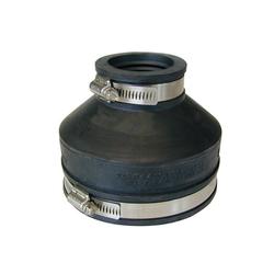 RUG Verbinder Rohrverbinder Gummi Rohrmuffe Gummimuffe Flexmuffe Rohr Muffe Reduziermuffe 42-50 auf 100-115, (1-St), witterungs- und UV-Licht-beständig