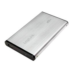 LogiLink Festplattengehäuse 2,5, IDE, USB 2.0, Alu