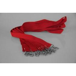 10 Umhängebänder | SET | rot | 20 mm